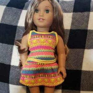 American girl doll lea clark. Girl of the year